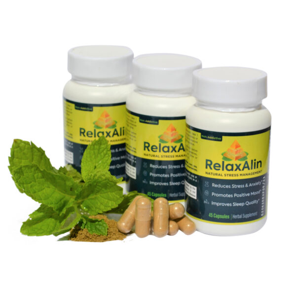 Relaxalin 3 bottles